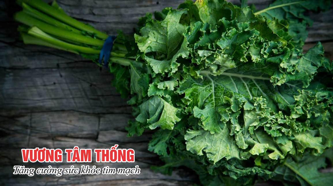 Ăn nhiều rau xanh giúp ngăn ngừa nguy cơ bị thiếu máu cơ tim